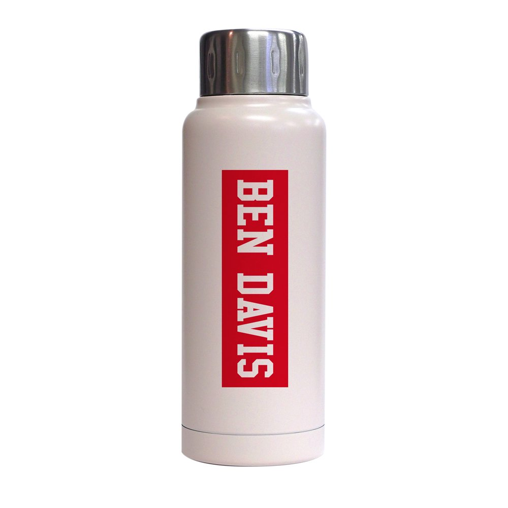 【STAINLESS BOTTLE (280ml)】ステンレスボトル(RED BOX LOGO)