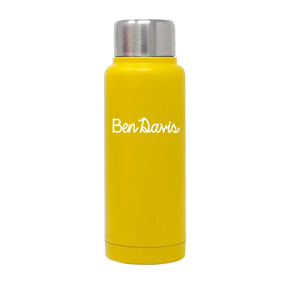 【STAINLESS BOTTLE (280ml)】ステンレスボトル(YELLOW)