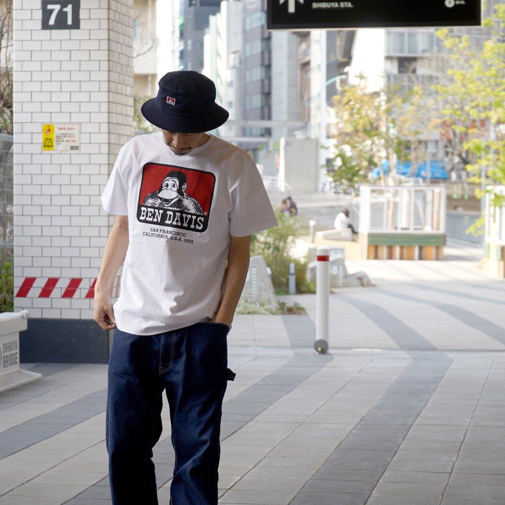 ベンデイビス 【BASIC LOGO  PRINT TEE】ベーシックロゴプリントTシャツ(抗菌防臭) 詳細画像