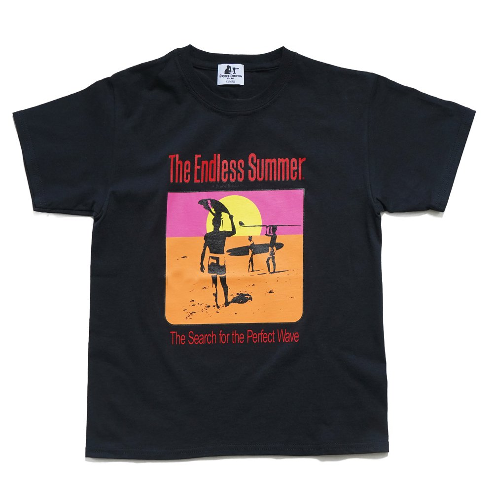 BRUCE BROWN FILMS【THE ENDLESS SUMMER】ポスターTシャツ