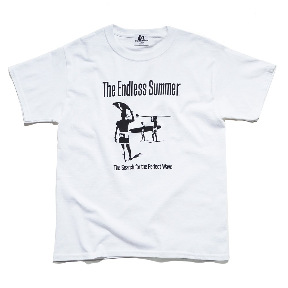 BRUCE BROWN FILMS【THE ENDLESS SUMMER】シルエットTシャツ