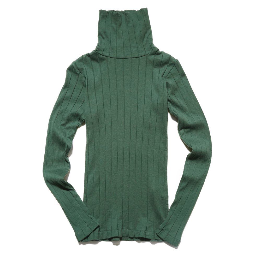 ベンデイビス YOUNG & OLSEN The DRY GOODS STORE(ヤング&オルセン)‐ BROAD RIB TURTLE NECK LS 詳細画像