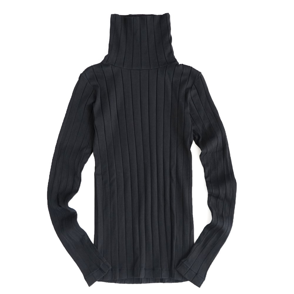 ベンデイビス YOUNG & OLSEN The DRY GOODS STORE(ヤング&オルセン)‐ BROAD RIB TURTLE NECK LS 詳細画像2
