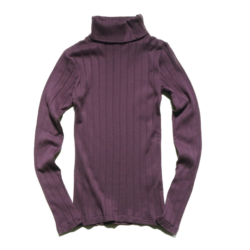 ベンデイビス YOUNG & OLSEN The DRY GOODS STORE(ヤング&オルセン)‐ BROAD RIB TURTLE NECK LS 詳細画像4