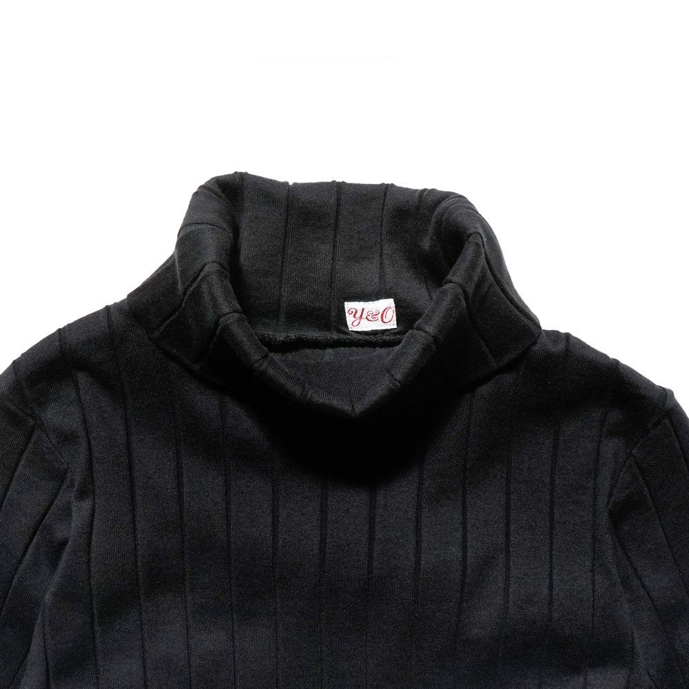 ベンデイビス YOUNG & OLSEN The DRY GOODS STORE(ヤング&オルセン)‐ BROAD RIB TURTLE NECK LS 詳細画像6