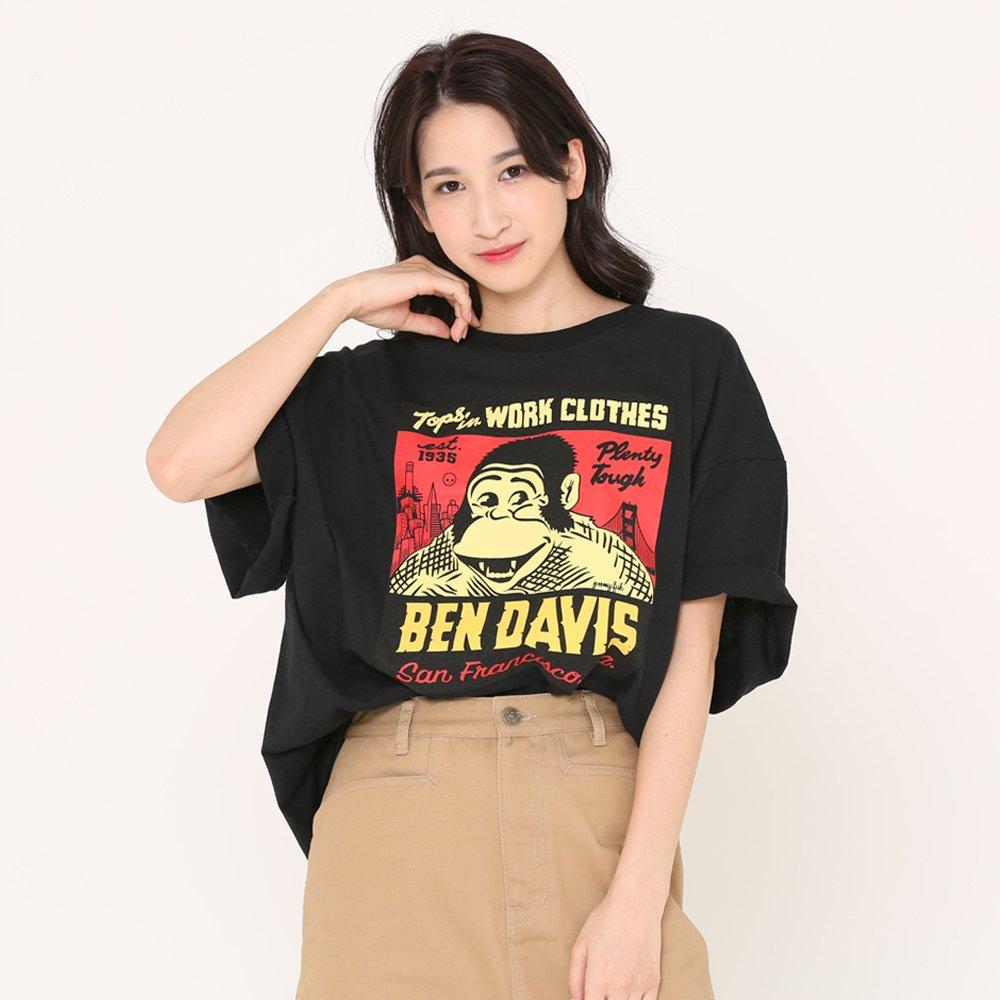 ベンデイビス BEN DAVIS USA【JEREMY FISH SPECIAL TEE】ジェレミーフィッシュTシャツ 詳細画像4