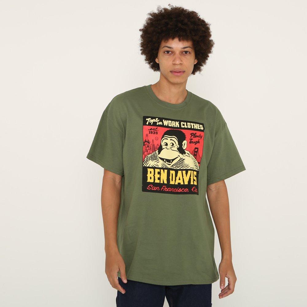 ベンデイビス BEN DAVIS USA【JEREMY FISH SPECIAL TEE】ジェレミーフィッシュTシャツ 詳細画像5