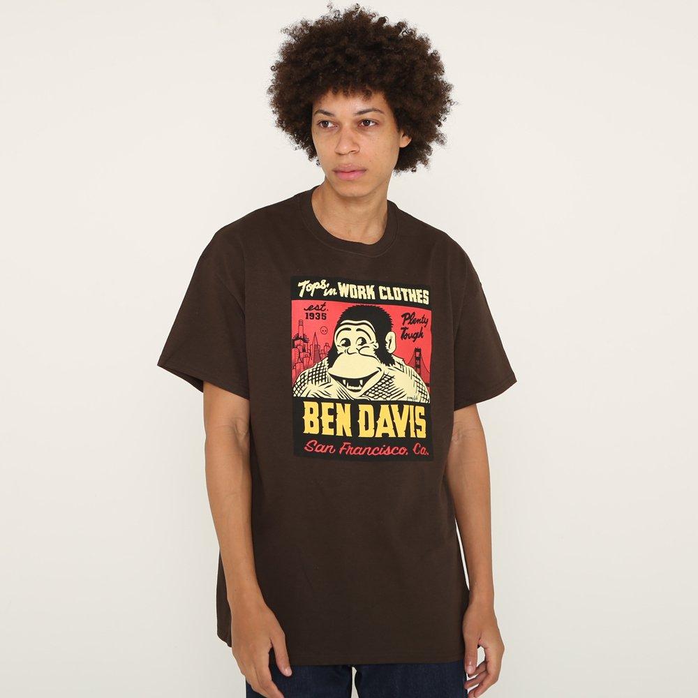 ベンデイビス BEN DAVIS USA【JEREMY FISH SPECIAL TEE】ジェレミーフィッシュTシャツ 詳細画像6