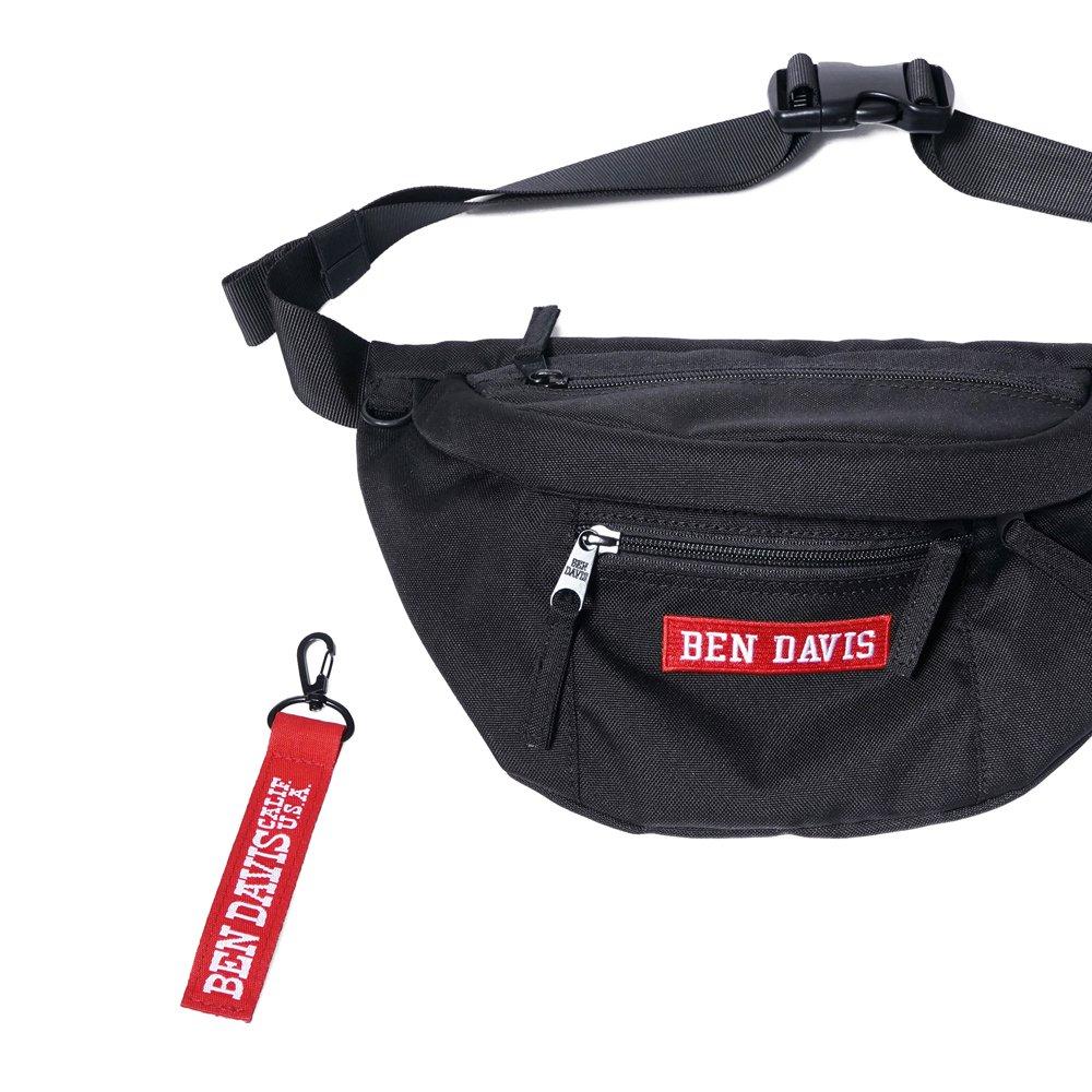 ベンデイビス 【LOGO TAPE WAIST BAG】ロゴテープウエストバック 詳細画像5