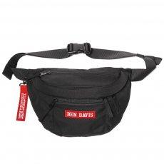BDW-9273【LOGO TAPE WAIST BAG】ロゴテープウエストバック