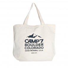 CAMP7 キャンプセブン【CANVAS PRINT TOTE】キャンバスプリントトートB
