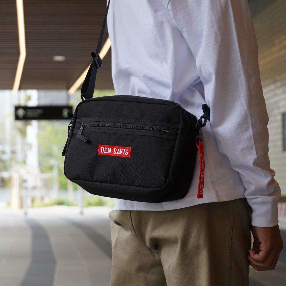 ベンデイビス BDW-9308【TAPE WIDE SHOULDER BAG】テープワイドショルダーバック 詳細画像