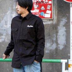 【EMBRO WORK SHIRTS】刺繍ワークシャツ