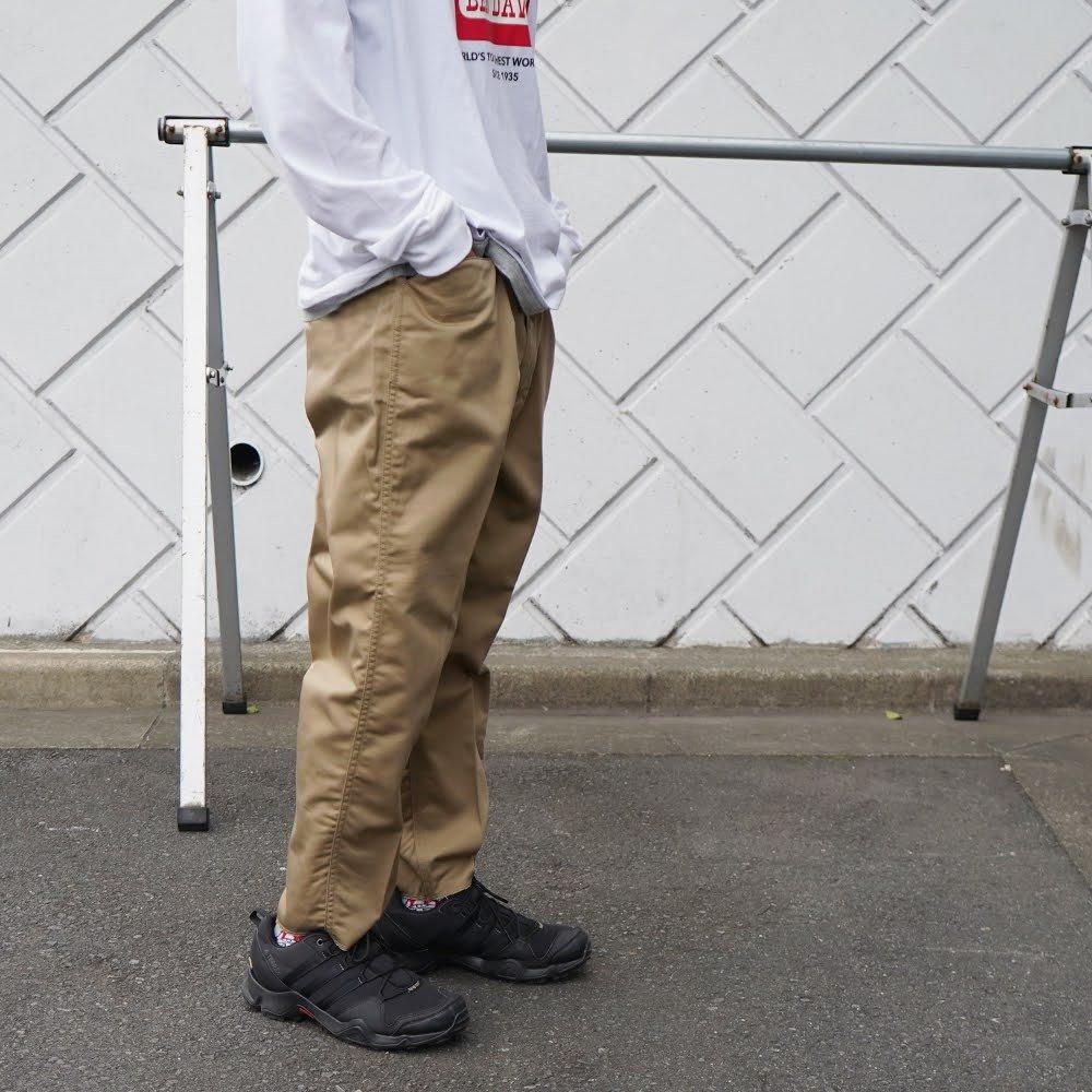 ベンデイビス GO OUT vol.137 3月号掲載商品 BEN DAVIS(ベンデイビス) 9/10LENGS PANTS - 9分丈パンツ 詳細画像4