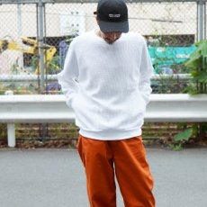 <img class='new_mark_img1' src='//img.shop-pro.jp/img/new/icons12.gif' style='border:none;display:inline;margin:0px;padding:0px;width:auto;' />【WAFFLE SWEAT SHIRTS】ワッフルスウェットシャツ