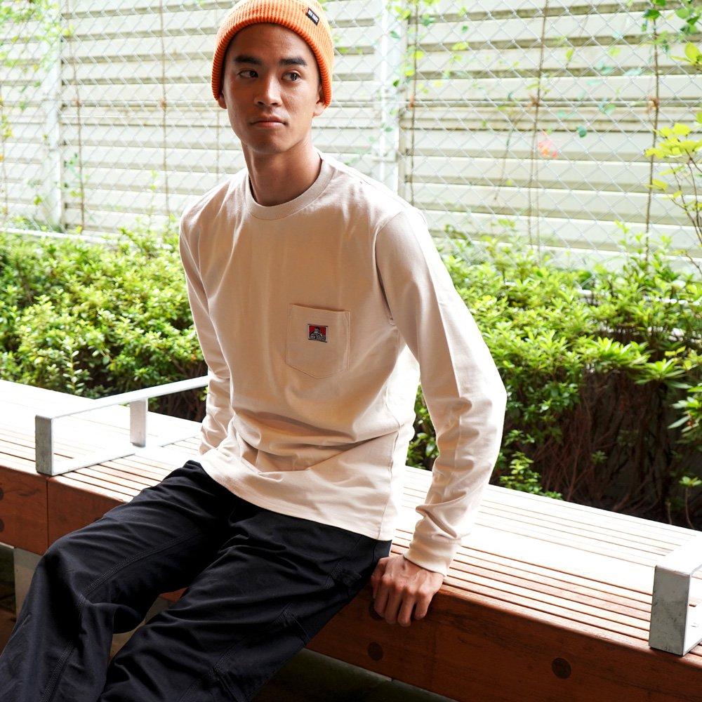 ベンデイビス 【POCKET LONG SLEEVE TEE】ポケット長袖Tシャツ(抗菌防臭) 詳細画像