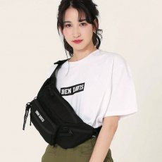 <img class='new_mark_img1' src='//img.shop-pro.jp/img/new/icons12.gif' style='border:none;display:inline;margin:0px;padding:0px;width:auto;' />【W POCKET WAIST BAG】ダブルポケットウエストバック