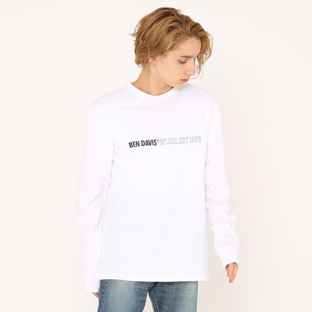 ベンデイビス 【CITY PRINT L/S TEE】プリント長袖Tシャツ(抗菌防臭) 詳細画像1