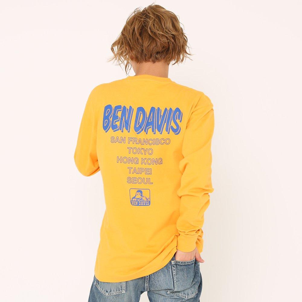 ベンデイビス 【CITY PRINT L/S TEE】プリント長袖Tシャツ(抗菌防臭) 詳細画像11