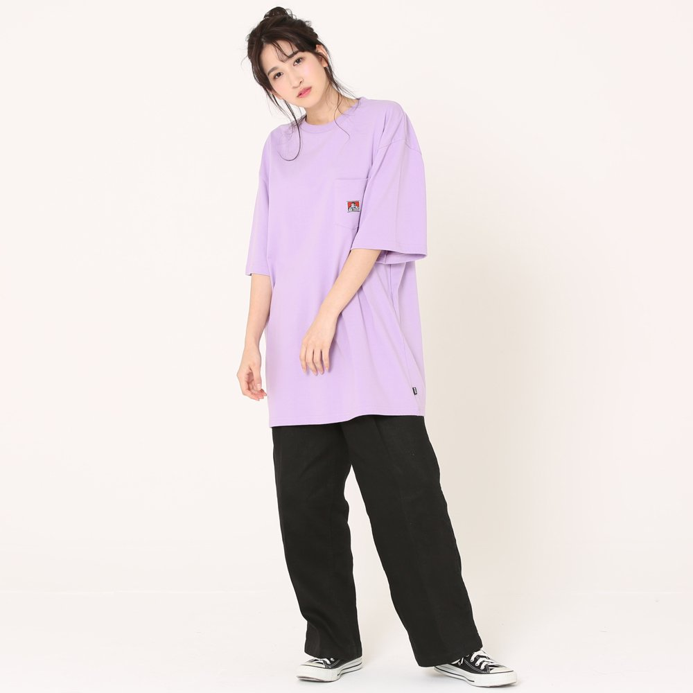 ベンデイビス 【BIG SIZING POCKET TEE】ビッグポケットTシャツ(抗菌防臭) 詳細画像