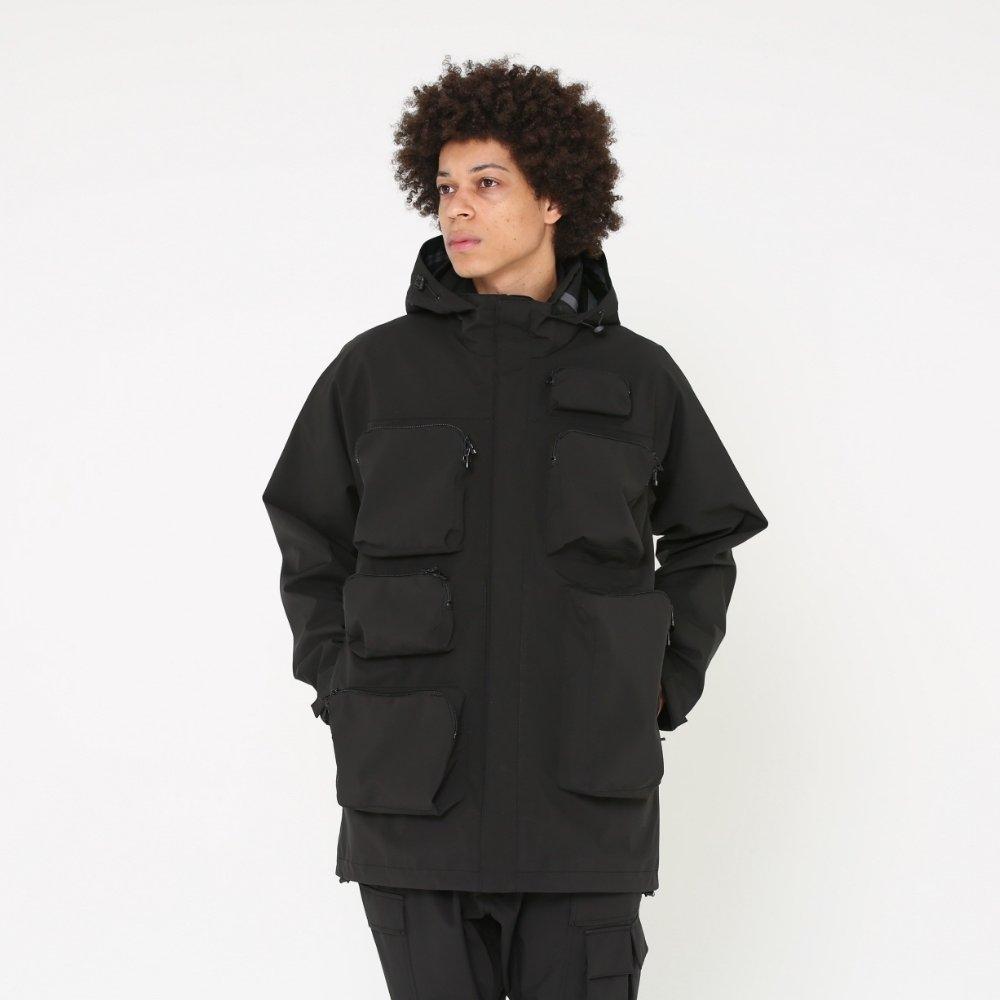 ベンデイビス DAYBREAK【3layer waterproof long jacket】3レイヤーウォータープルーフロングジャケット 詳細画像