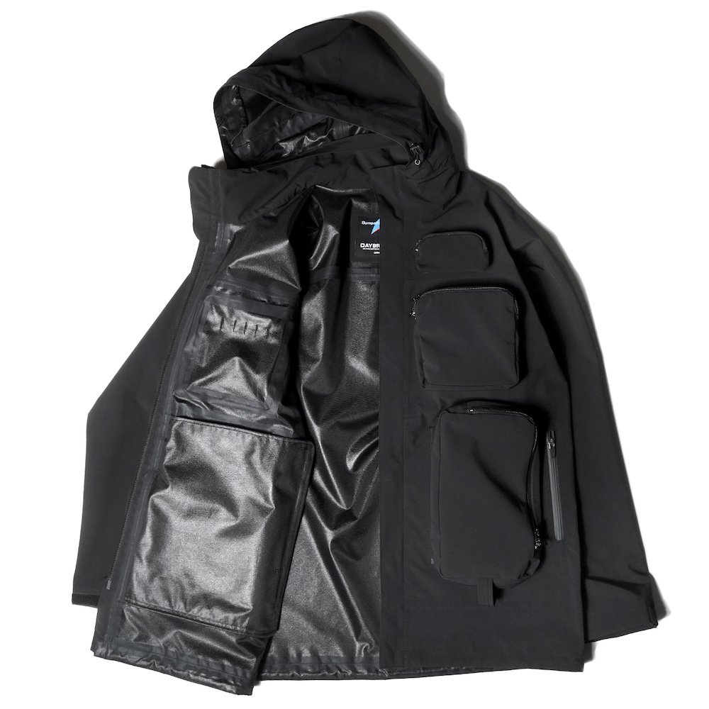 ベンデイビス DAYBREAK【3layer waterproof long jacket】3レイヤーウォータープルーフロングジャケット 詳細画像5