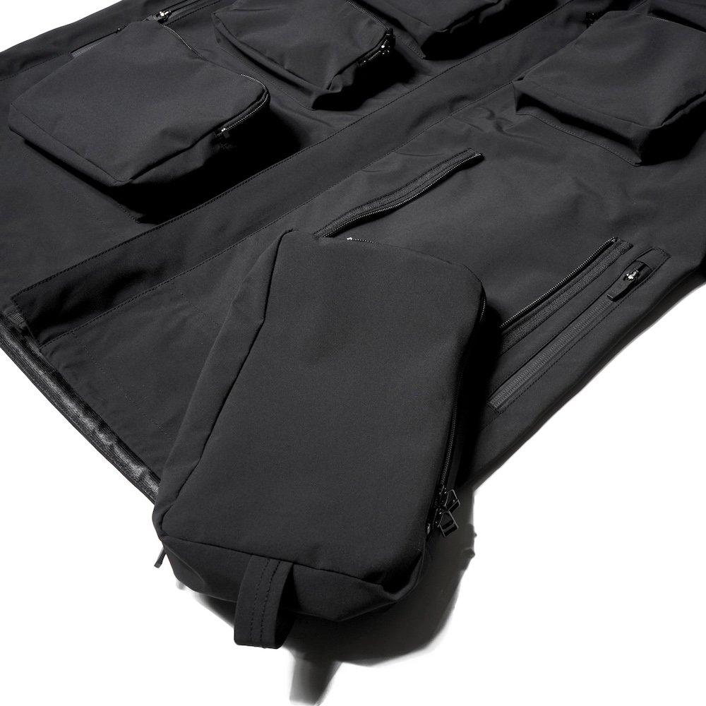 ベンデイビス DAYBREAK【3layer waterproof long jacket】3レイヤーウォータープルーフロングジャケット 詳細画像8