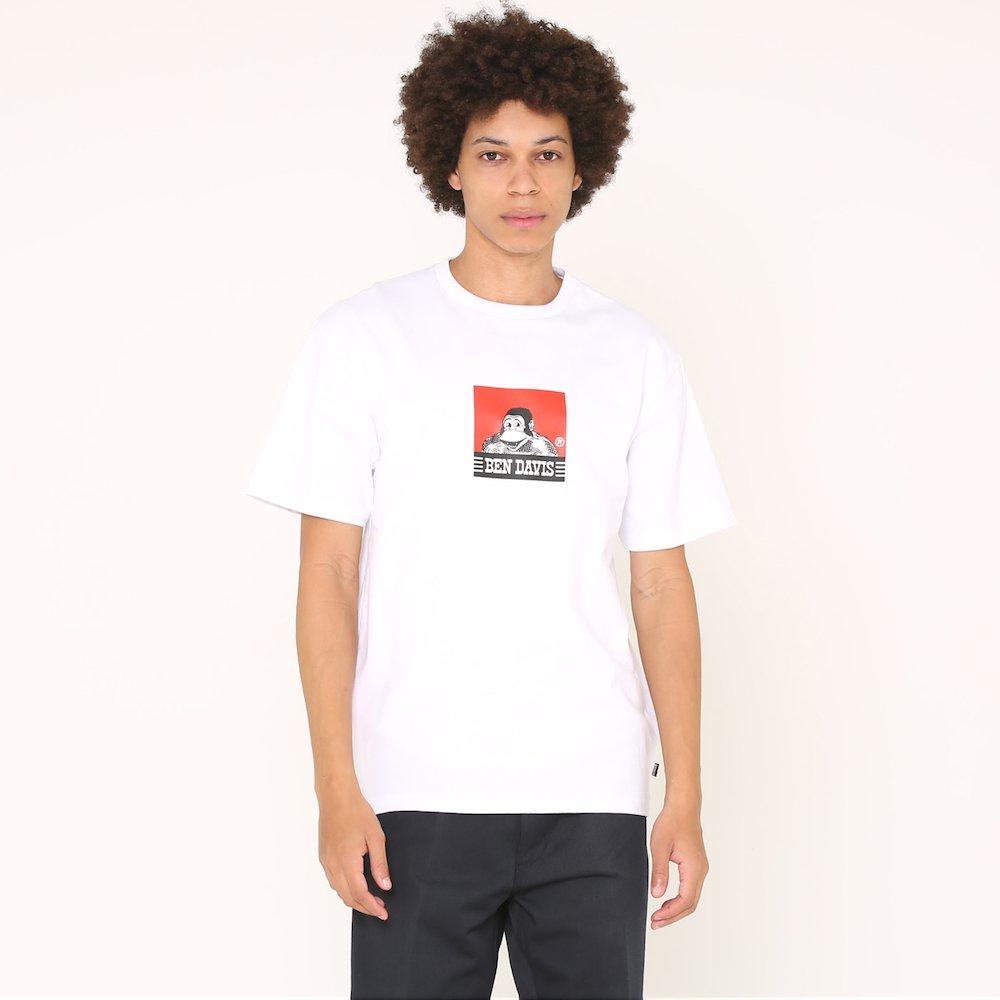 ベンデイビス 【SQUARE LOGO PRINT TEE】スクエアロゴプリントTシャツ(抗菌防臭) 詳細画像