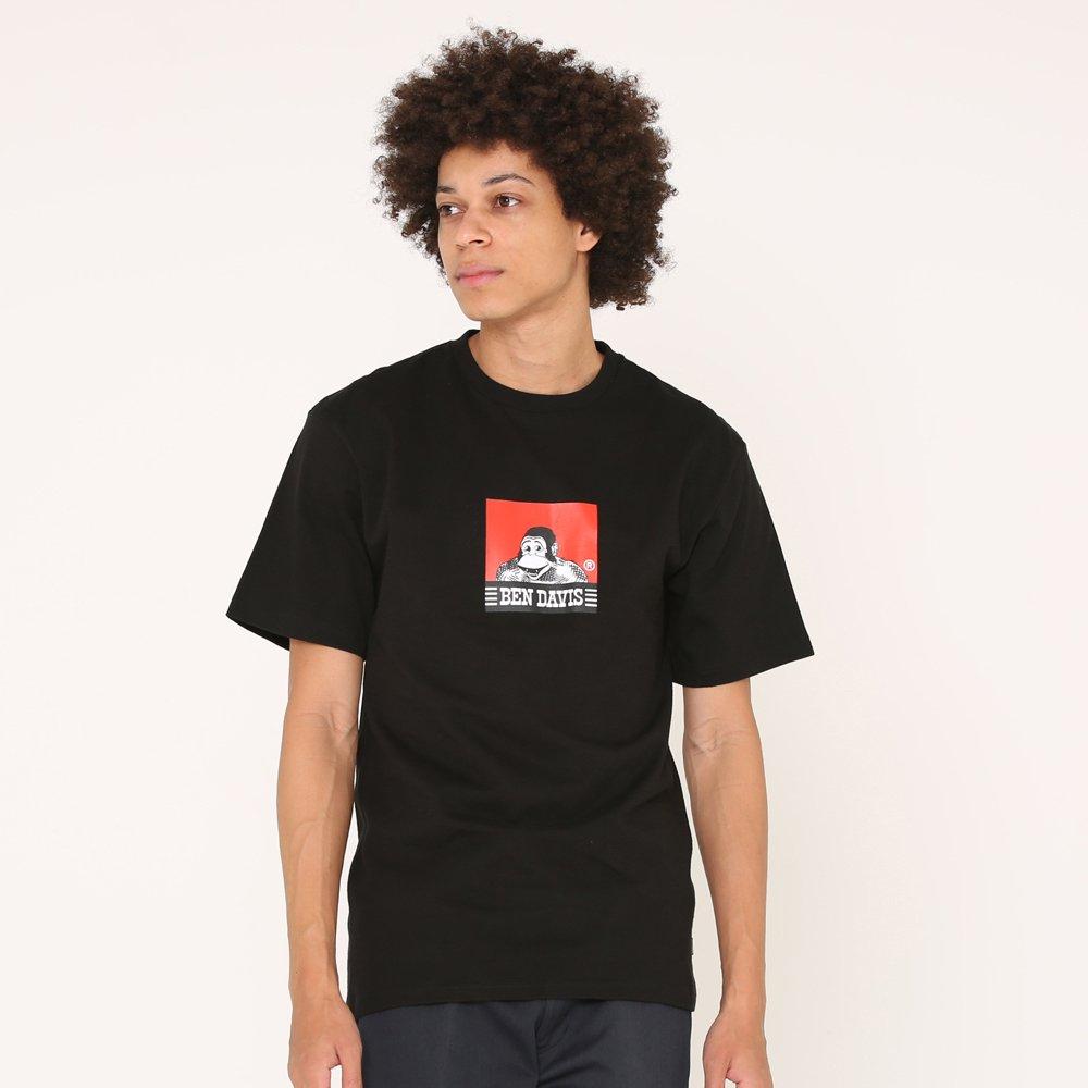 ベンデイビス 【SQUARE LOGO PRINT TEE】スクエアロゴプリントTシャツ(抗菌防臭) 詳細画像2