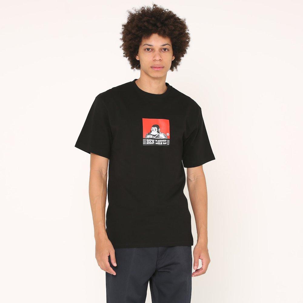ベンデイビス 【SQUARE LOGO PRINT TEE】スクエアロゴプリントTシャツ(抗菌防臭) 詳細画像3