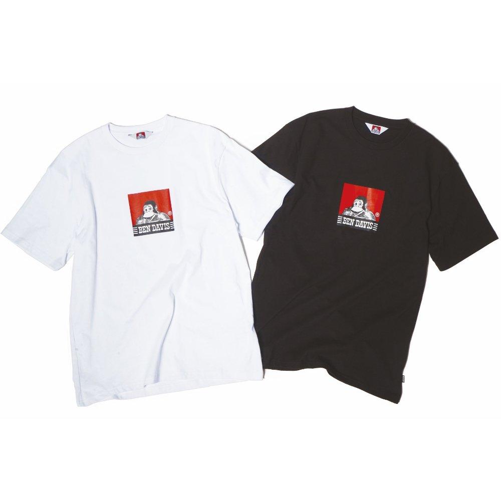 ベンデイビス 【SQUARE LOGO PRINT TEE】スクエアロゴプリントTシャツ(抗菌防臭) 詳細画像4