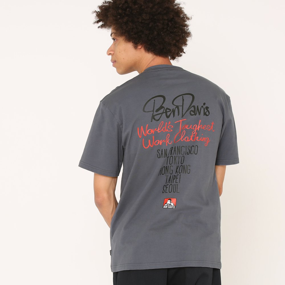 ベンデイビス 【STREET PRINT TEE】ストリートプリントTシャツ(抗菌防臭) 詳細画像