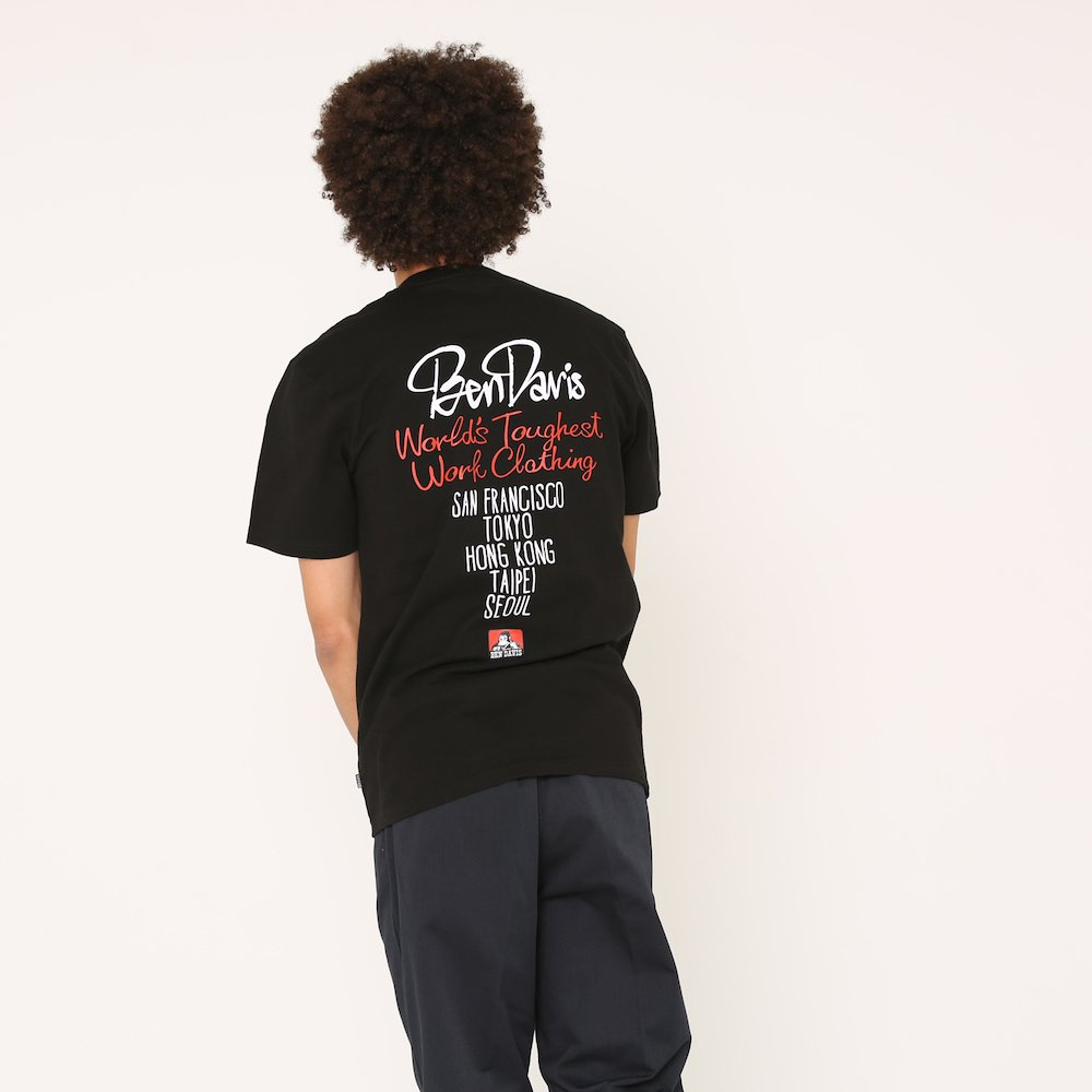 ベンデイビス 【STREET PRINT TEE】ストリートプリントTシャツ(抗菌防臭) 詳細画像6