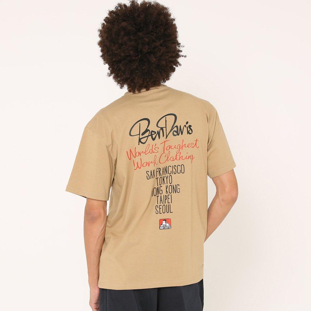 ベンデイビス 【STREET PRINT TEE】ストリートプリントTシャツ(抗菌防臭) 詳細画像7