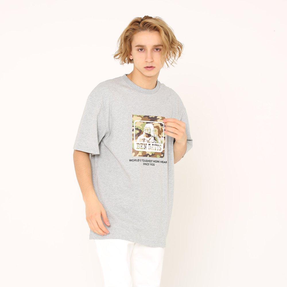 ベンデイビス 【CAMO LOGO PRINT TEE】カモロゴプリントTシャツ(抗菌防臭) 詳細画像