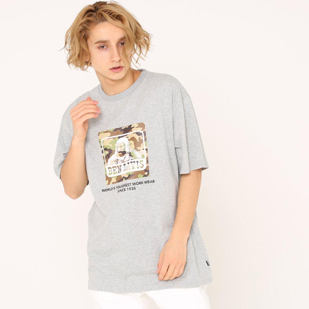 ベンデイビス 【CAMO LOGO PRINT TEE】カモロゴプリントTシャツ(抗菌防臭) 詳細画像1