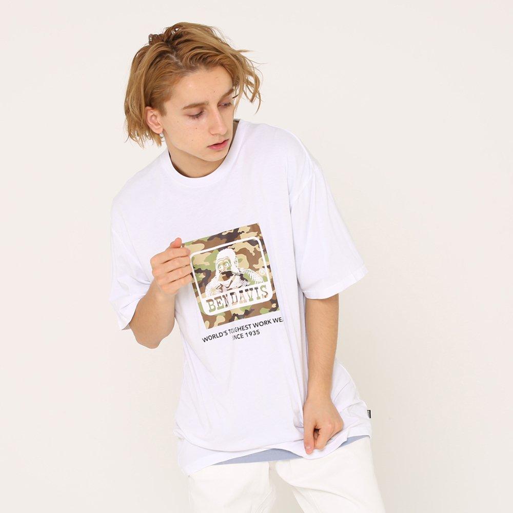 ベンデイビス 【CAMO LOGO PRINT TEE】カモロゴプリントTシャツ(抗菌防臭) 詳細画像2