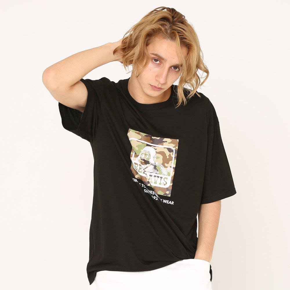 ベンデイビス 【CAMO LOGO PRINT TEE】カモロゴプリントTシャツ(抗菌防臭) 詳細画像3