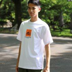 CAMP7【PRINT S/S TEE】プリントTシャツ(抗菌防臭・UVカット)