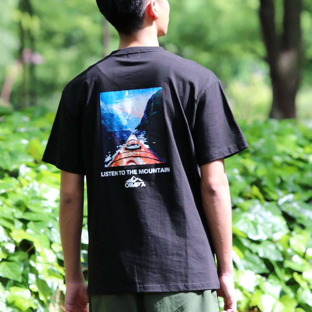 ベンデイビス CAMP7【PRINT S/S TEE】プリントTシャツ(抗菌防臭・UVカット) 詳細画像3