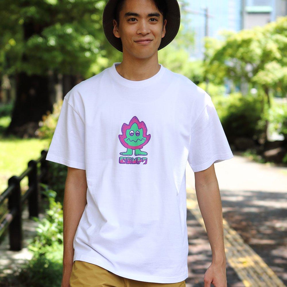"""ベンデイビス CAMP7【Naoki """"SAND"""" Yamamoto GRAPHIC S/S TEE】Naoki """"SAND"""" YamamotoグラフィックTシャツ(抗菌防臭・UVカット) 詳細画像"""