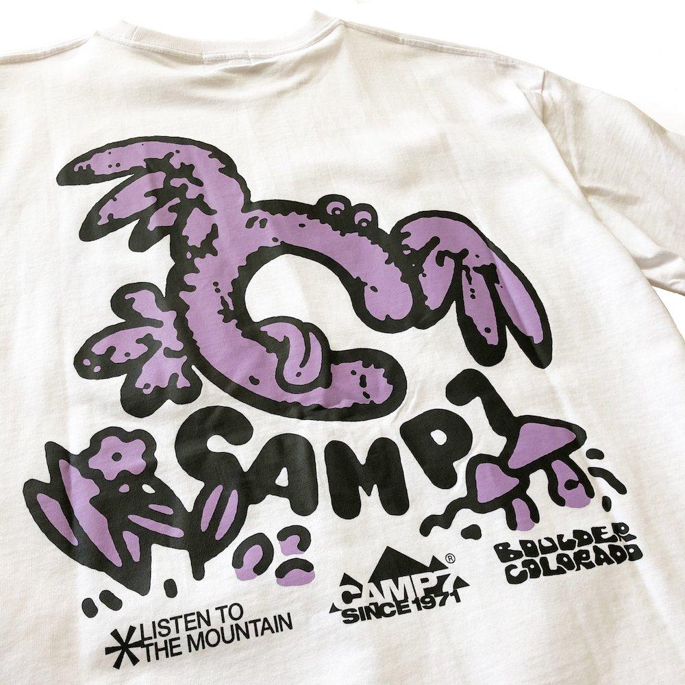 """ベンデイビス GO OUT 6月号掲載商品  CAMP7【Naoki """"SAND"""" Yamamoto GRAPHIC S/S TEE】グラフィックTシャツ(抗菌防臭・UVカット) 詳細画像11"""