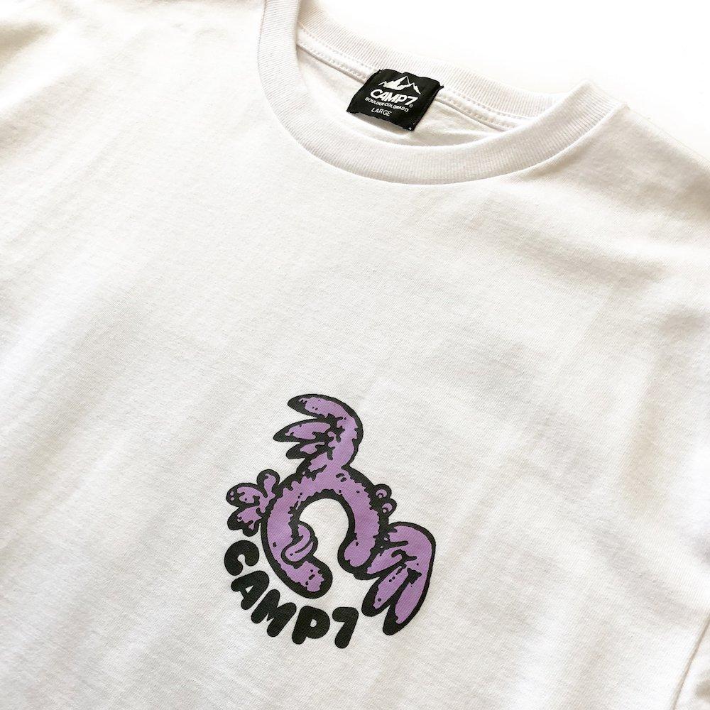 """ベンデイビス GO OUT 6月号掲載商品  CAMP7【Naoki """"SAND"""" Yamamoto GRAPHIC S/S TEE】グラフィックTシャツ(抗菌防臭・UVカット) 詳細画像7"""