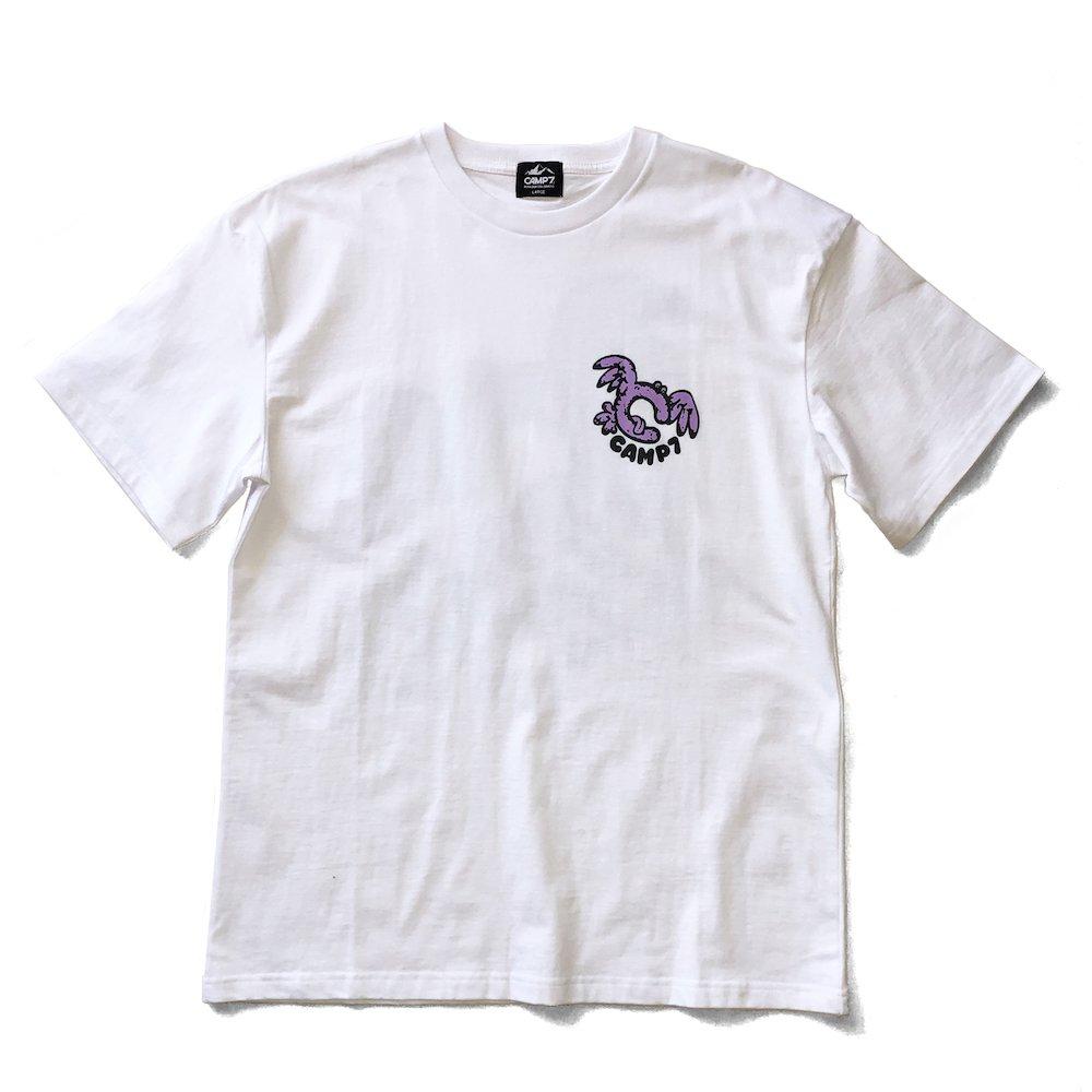 """ベンデイビス GO OUT 6月号掲載商品  CAMP7【Naoki """"SAND"""" Yamamoto GRAPHIC S/S TEE】グラフィックTシャツ(抗菌防臭・UVカット) 詳細画像8"""