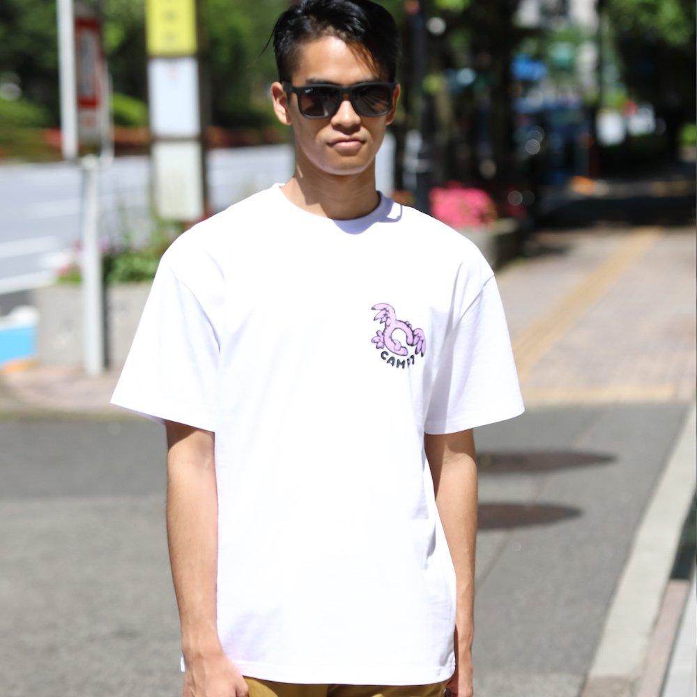"""ベンデイビス GO OUT 6月号掲載商品  CAMP7【Naoki """"SAND"""" Yamamoto GRAPHIC S/S TEE】グラフィックTシャツ(抗菌防臭・UVカット) 詳細画像9"""
