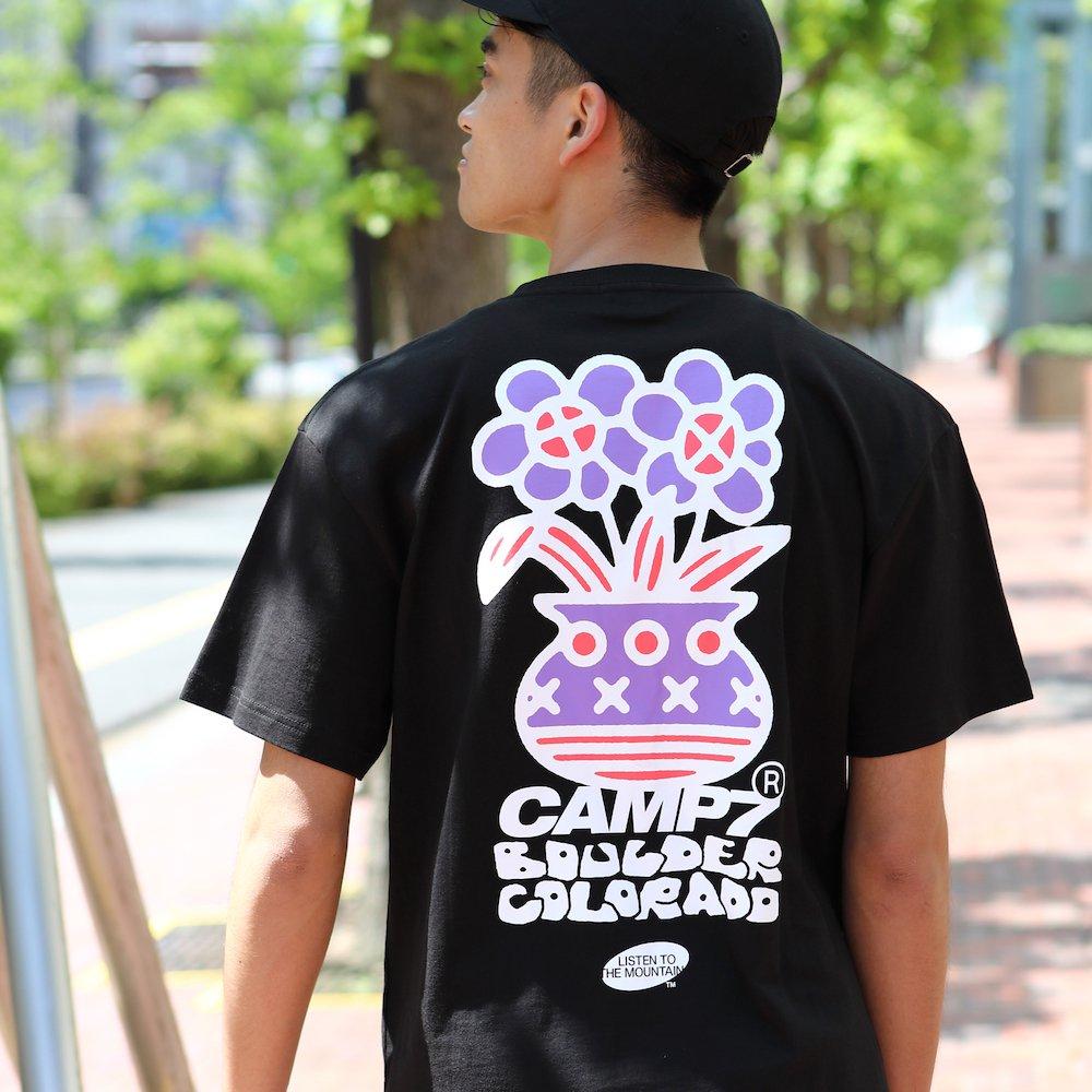 """ベンデイビス CAMP7【Naoki """"SAND"""" Yamamoto GRAPHIC S/S TEE】Naoki """"SAND"""" YamamotoグラフィックTシャツ(抗菌防臭・UVカット) 詳細画像10"""