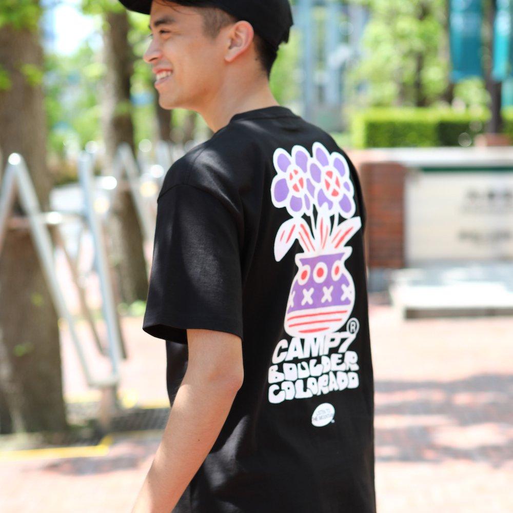 """ベンデイビス CAMP7【Naoki """"SAND"""" Yamamoto GRAPHIC S/S TEE】Naoki """"SAND"""" YamamotoグラフィックTシャツ(抗菌防臭・UVカット) 詳細画像11"""