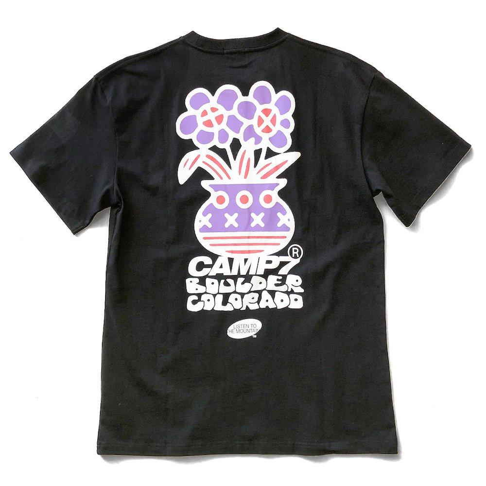 """ベンデイビス CAMP7【Naoki """"SAND"""" Yamamoto GRAPHIC S/S TEE】Naoki """"SAND"""" YamamotoグラフィックTシャツ(抗菌防臭・UVカット) 詳細画像2"""