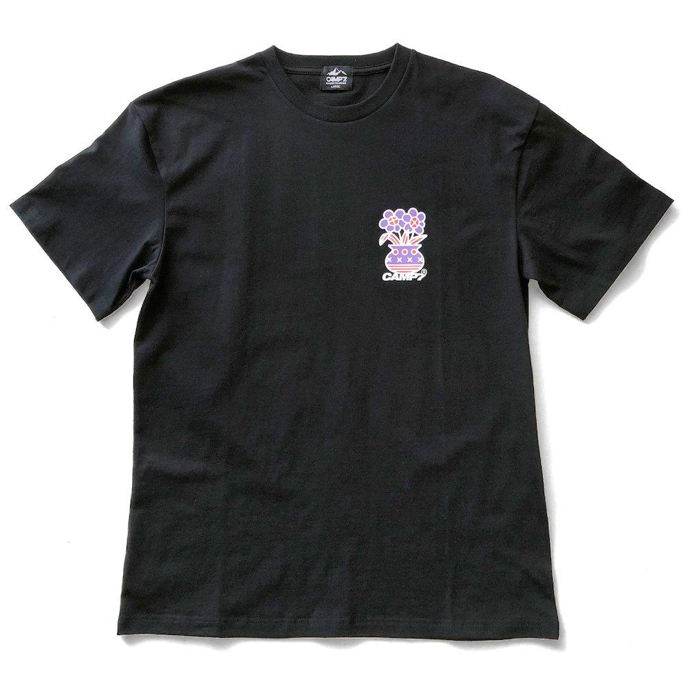 """ベンデイビス CAMP7【Naoki """"SAND"""" Yamamoto GRAPHIC S/S TEE】Naoki """"SAND"""" YamamotoグラフィックTシャツ(抗菌防臭・UVカット) 詳細画像3"""