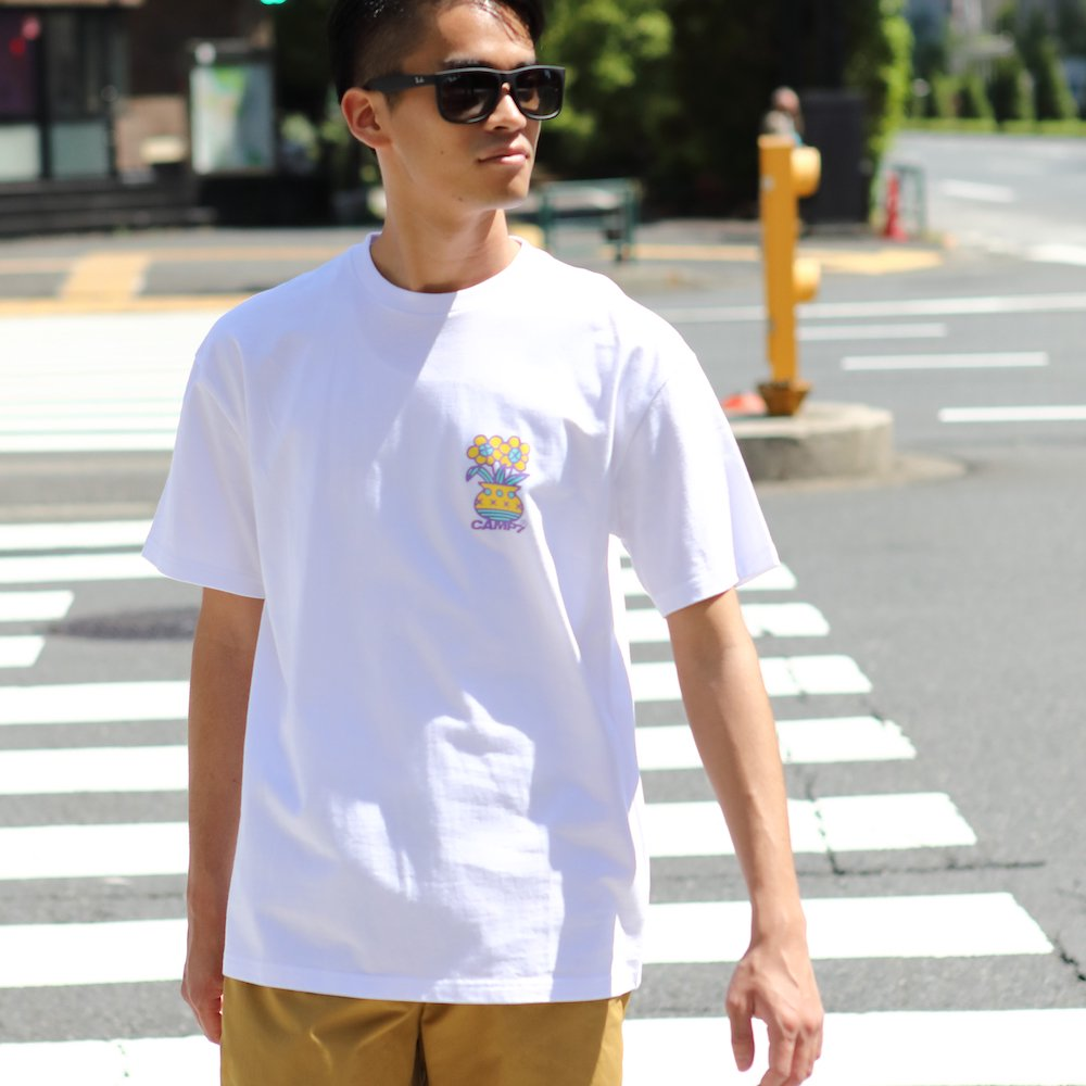 """ベンデイビス CAMP7【Naoki """"SAND"""" Yamamoto GRAPHIC S/S TEE】Naoki """"SAND"""" YamamotoグラフィックTシャツ(抗菌防臭・UVカット) 詳細画像5"""